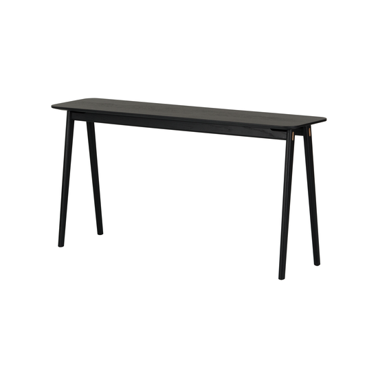 Helga - Fidel Console Table 1.5m - Black Oak