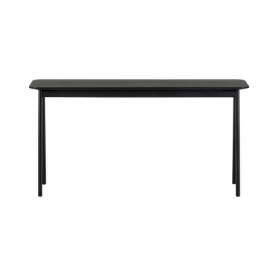 Fidel Console Table - Black Oak - Image 1