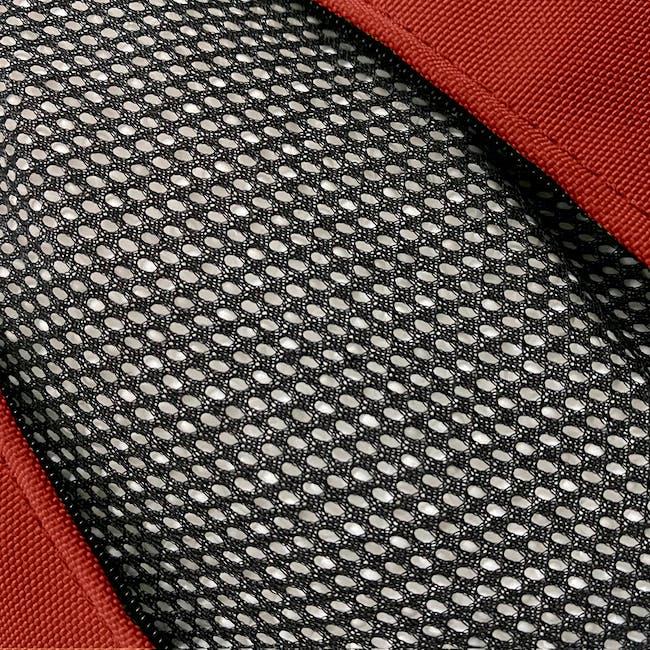 Splash Waterproof Outdoor Triangle Bean Bag - Red - 3