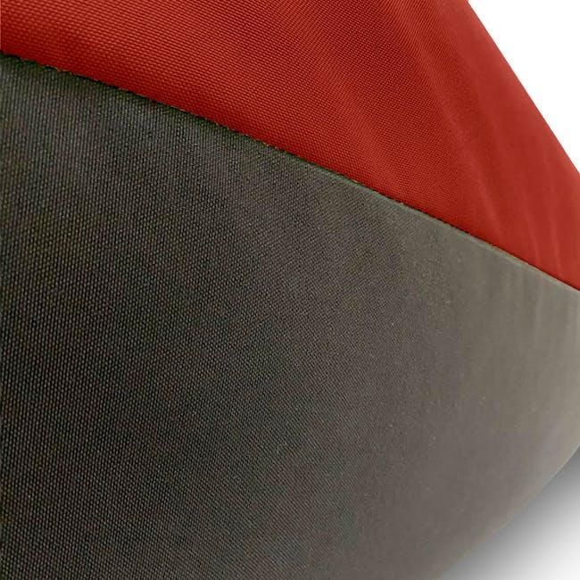 Splash Waterproof Outdoor Triangle Bean Bag - Red - 5