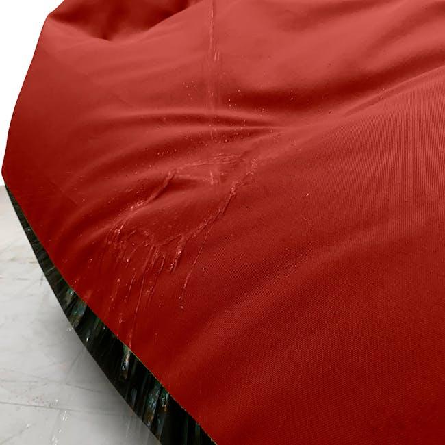 Splash Waterproof Outdoor Triangle Bean Bag - Red - 2