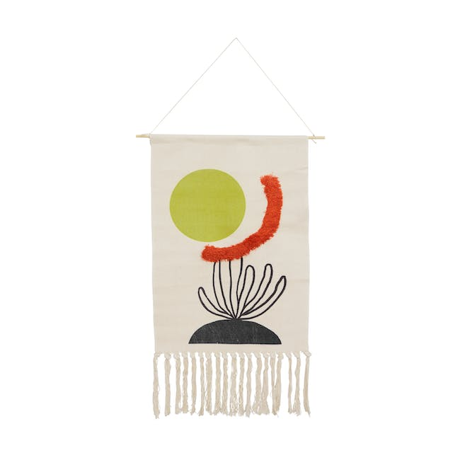 Nordic Tapestry with Tassle - Sun & Sea - 0