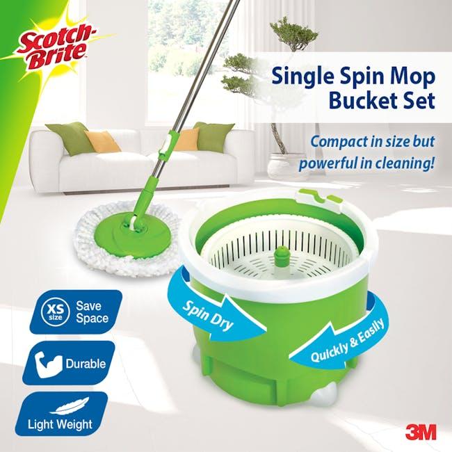 Scotch-Brite Single Bucket Spin Mop - 4