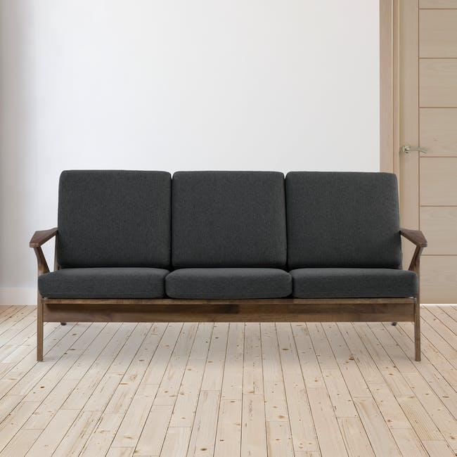 Aston 3 Seater Sofa - Seal - 1