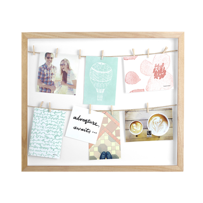 Clothesline Photo Display - Natural - Image 1