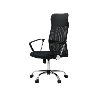 Cory High Back Office Chair - Black - Image 2