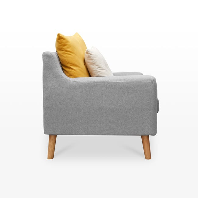 Evan 2 Seater Sofa - Slate - 3