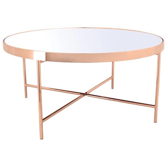 HipVan Bundles - Xander Mirror Coffee Table with Xander Mirror Side Table