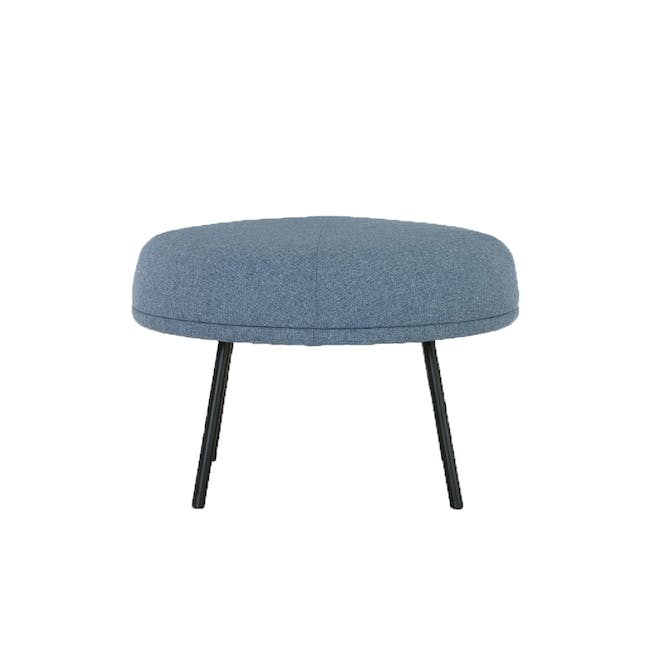 Justy Ottoman - Marble Blue - 0