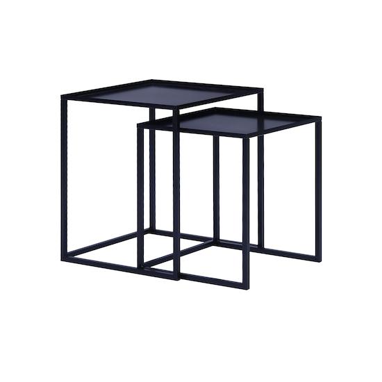 Laholm - Luso Nesting Table - Matte Black