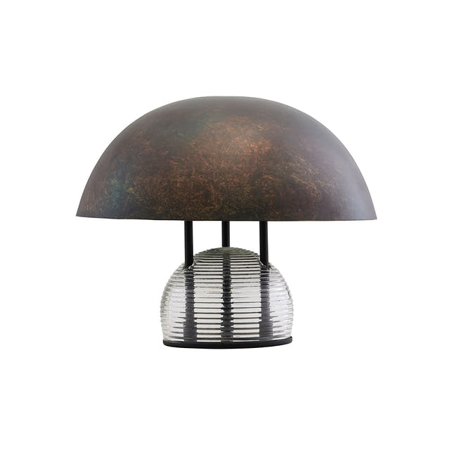 Bruno Table Lamp - Antique Brown - 0
