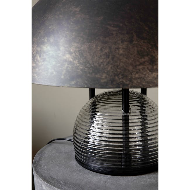 Bruno Table Lamp - Antique Brown - 1