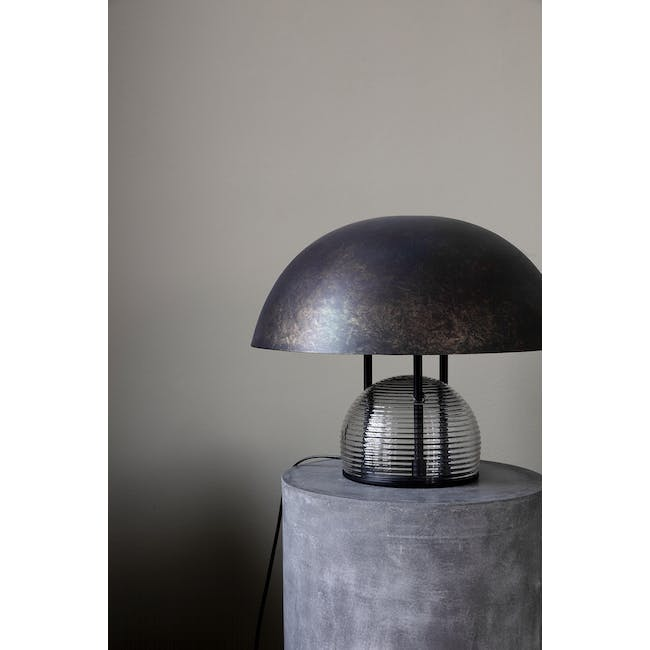 Bruno Table Lamp - Antique Brown - 2