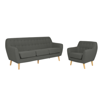 Emma 3 Seater Sofa and Emma Armchair - Image 1