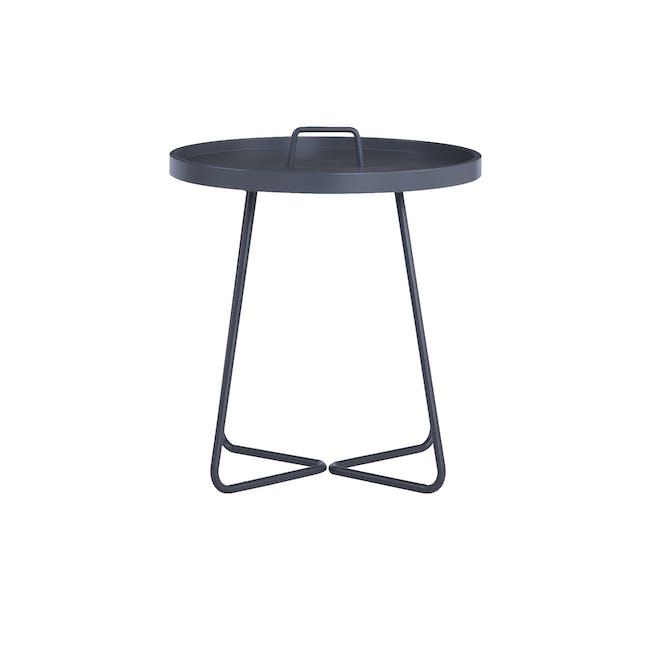 Jax Side Table - Graphite Grey - 1