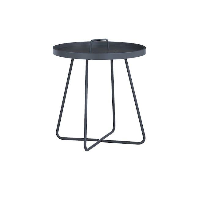 Jax Side Table - Graphite Grey - 0