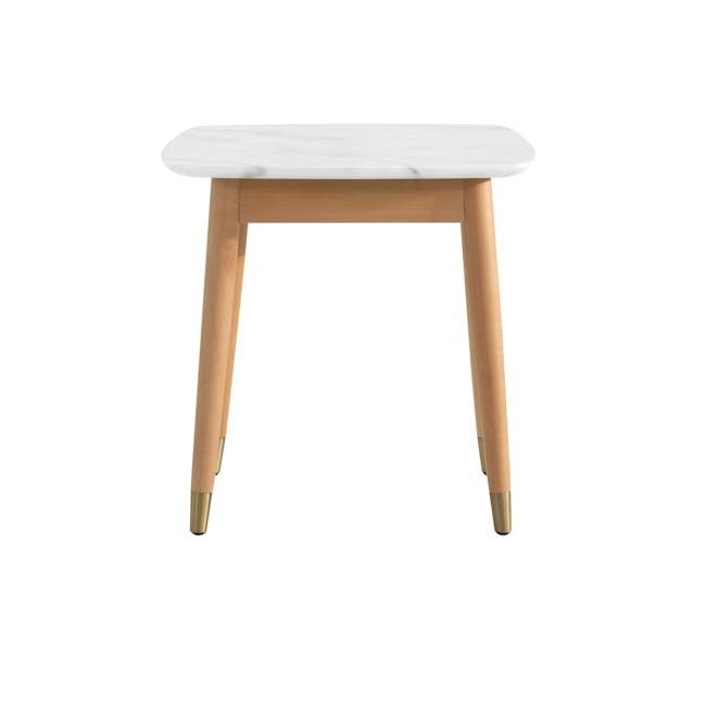 Hagen Marble Side Table - 5