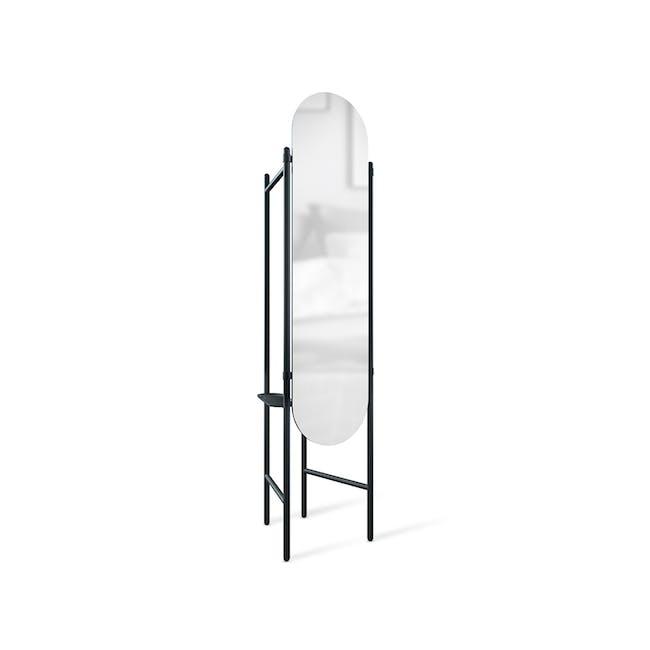 Vala Floor Mirror - Black - 2