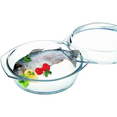 Lamart Round Glass Casserole Dish ÌÎÌ_ÌÎ_ÌÎÌ_ÌÎ́24.9 cm - Image 2