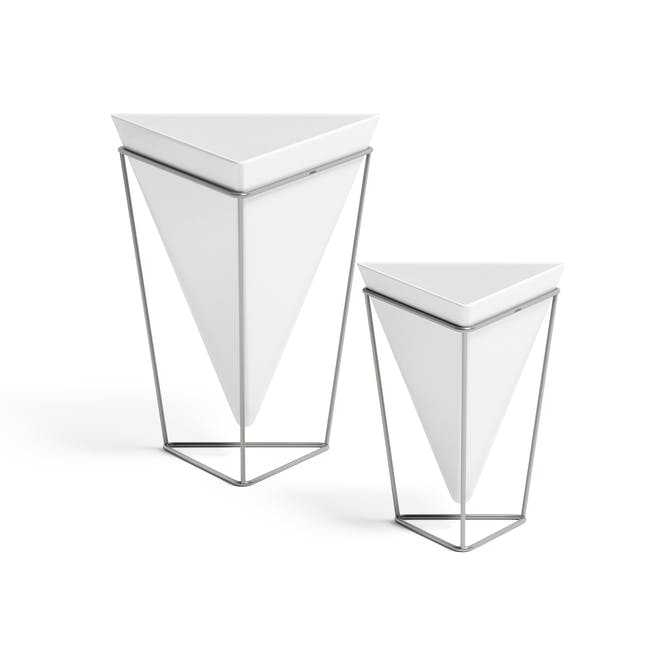 Trigg Tabletop Vessel (Set of 2) - Chrome - 0