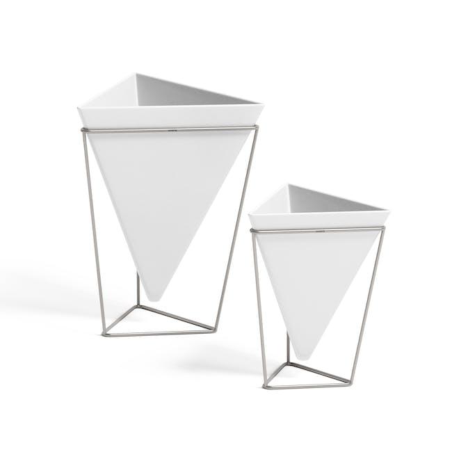 Trigg Tabletop Vessel (Set of 2) - Chrome - 2