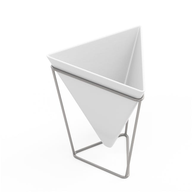 Trigg Tabletop Vessel (Set of 2) - Chrome - 3