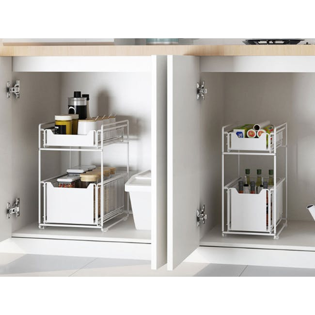 Tori Kitchen Organiser Slim - Black - 3