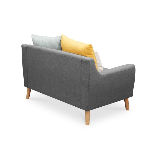 Evan 2 Seater Sofa - Charcoal Grey - 4