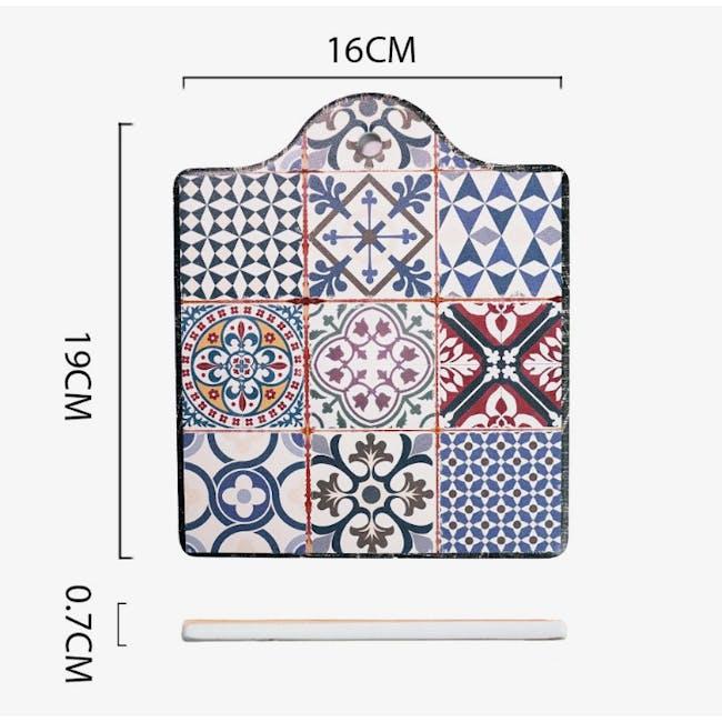 Peranakan Ceramic Pot Coaster - Sybil - 3