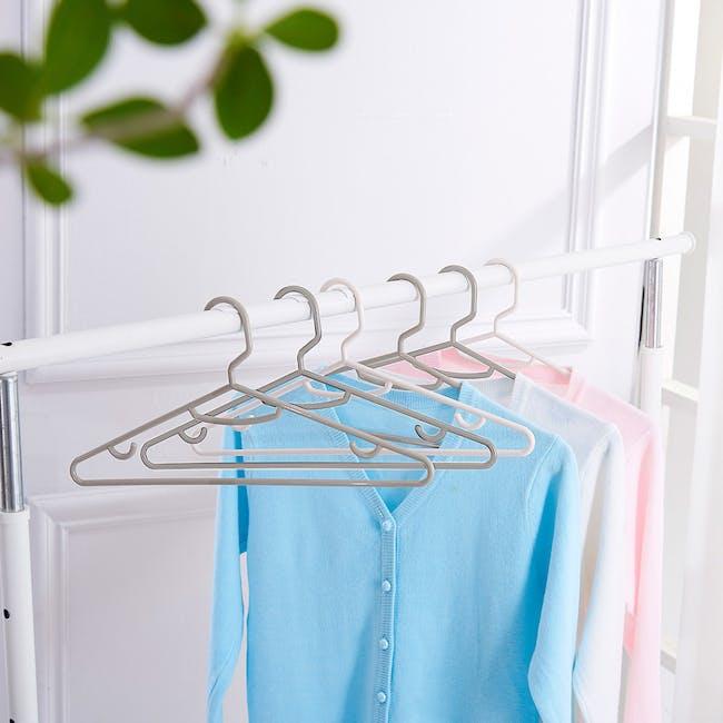 HOUZE Men's Hanger (Set of 5) - Grey - 2