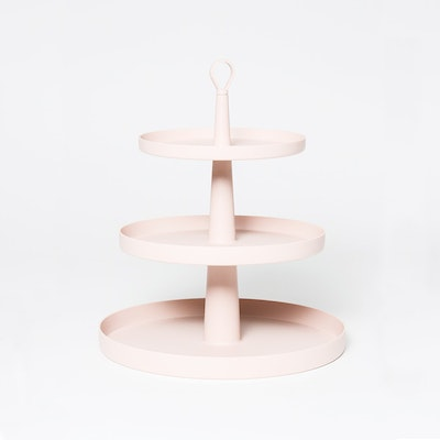 Tiers 3-Level Cake Stand -Suede - Image 1