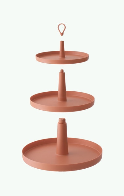 Tiers 3-Level Cake Stand -Suede - Image 2