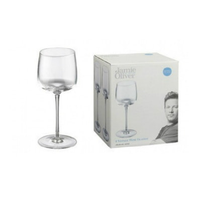 Jamie Oliver Vintage 35cl Wine Glass (Set of 4) - Image 1