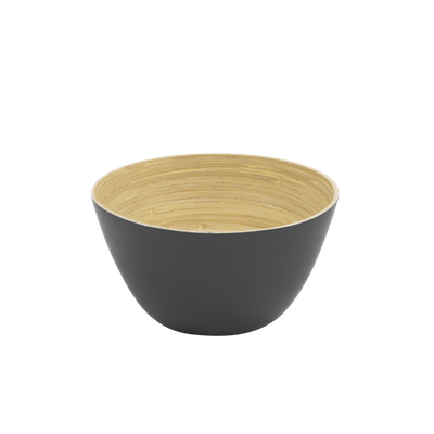 Rowan Bamboo Large Bowl - Grey - Image 2