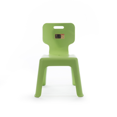 Sturdy Kids Chair with Backrest - Mint Green - Image 2