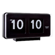 Vintage Wall/Table Flip Clock BQ50 - Black