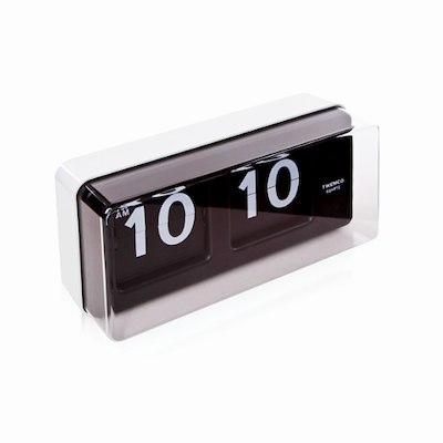Vintage Wall/Table Flip Clock BQ50 - White - Image 2