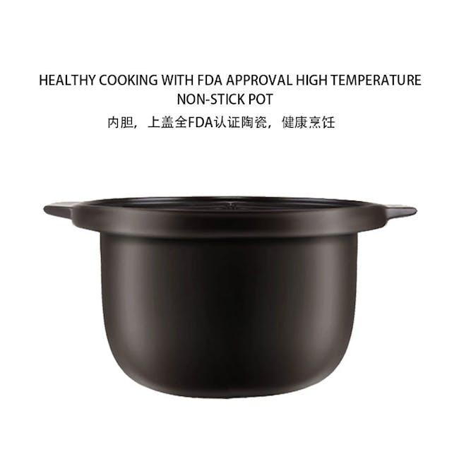TOYOMI Micro-com High Heat Stew Cooker HH 9080 - Red - 4