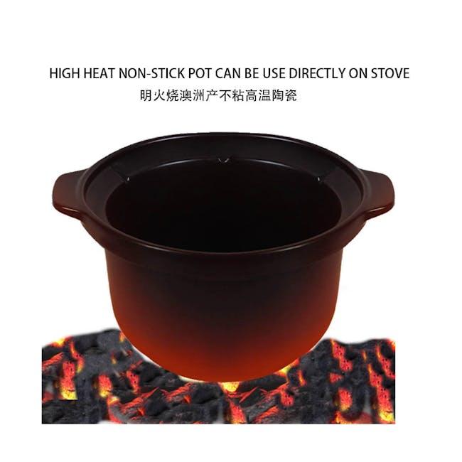TOYOMI Micro-com High Heat Stew Cooker HH 9080 - Red - 2