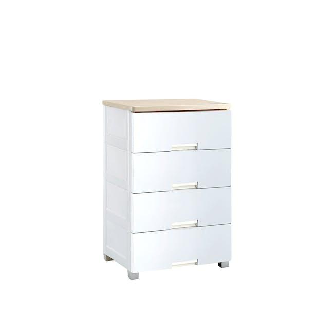 Wayho 4-Tier Wooden Top Cabinet - 0
