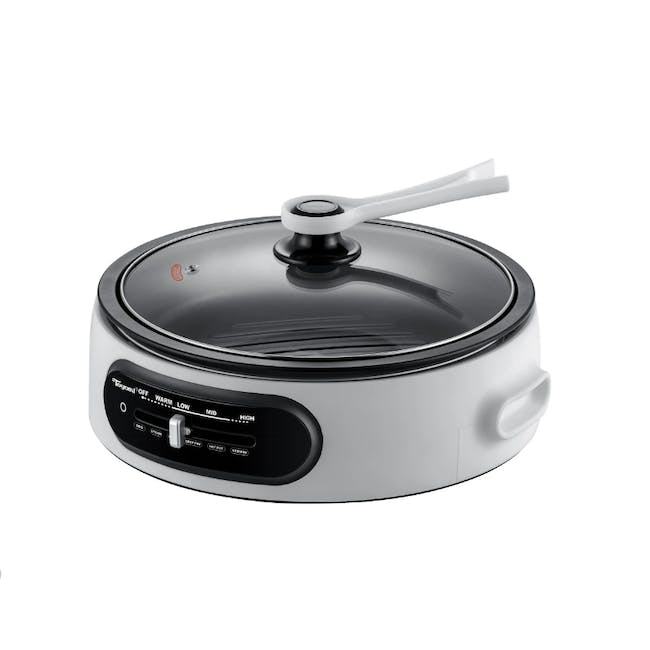 TOYOMI 4.5L Multi Cooker with Grill Pan & Steamer MC 6969SS - 1