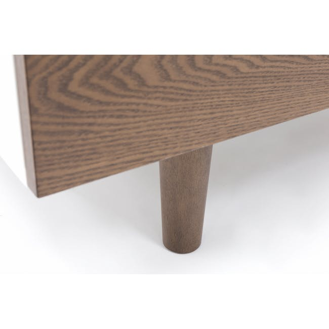 Aalto TV Cabinet 1.6m with Kyra High Coffee Table - Cocoa - 7