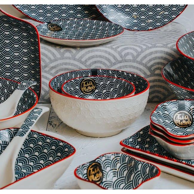Table Matters Blue Wave Bowl (3 Sizes) - 1