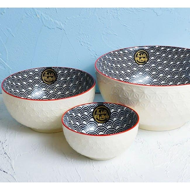 Table Matters Blue Wave Bowl (3 Sizes) - 4