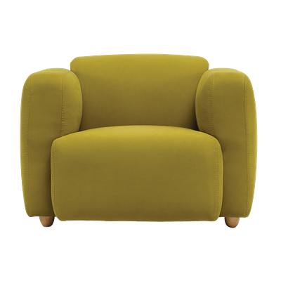 Polo 1 Seater Sofa - Pickle - Image 1