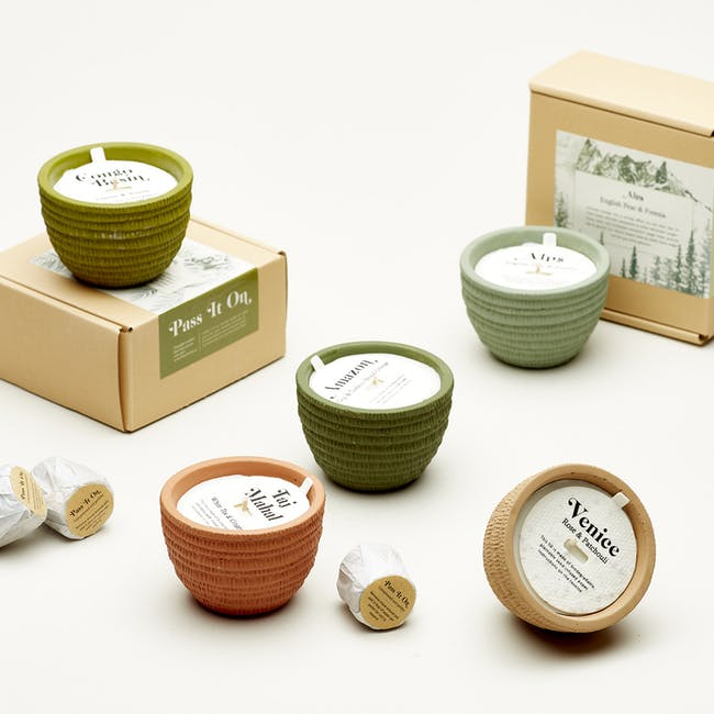 Pass It On Plantable Candles - Alps - 2