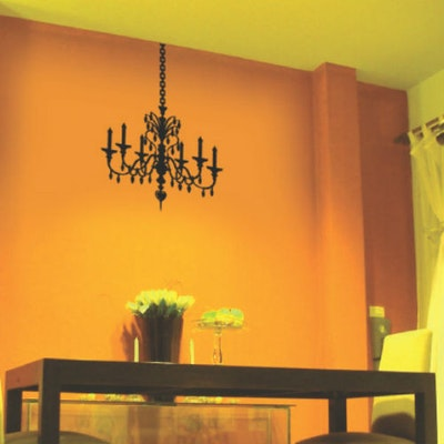 Wall Graphics - Chandelier