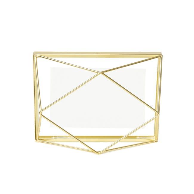 Prisma Rectangle Photo Display - Brass - 2