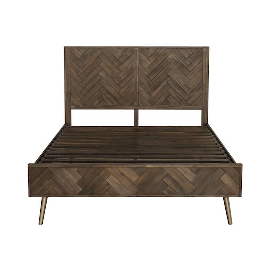 HipVan Bundles - Cadencia Queen Bed with 2 Cadencia Bedside Tables