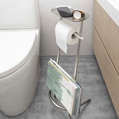 Valetto Toilet Paper Stand & Magazine Rack - Image 2
